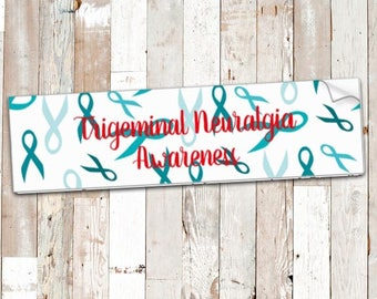 Trigeminal Neuralgia Warrior Bumper Sticker *