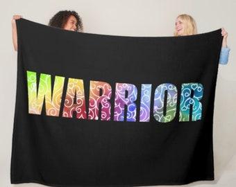 Whimsical Warrior Blanket *