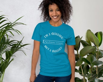 Warrior Not Worrier Adult Shirt - DYSAUTONOMIA