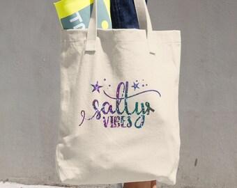 Salty Vibes Tote Bag