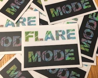 Flare Mode Sticker *