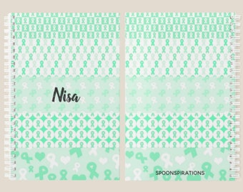 Green Ribbons Personalized Name Planner *