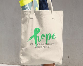 Hope For A World Without Gastroparesis Tote Bag