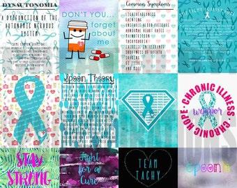 Dysautonomia Planner Stickers