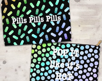Pill Pouch Two Sided *