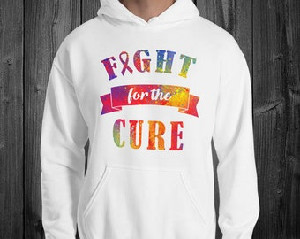 Fight for the Cure Splatter Hoodie