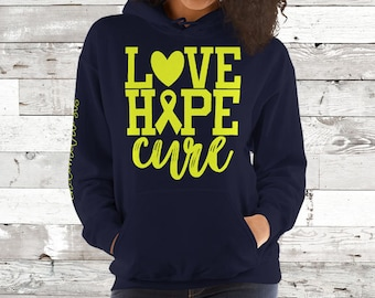 Endometriosis/Love Hope Cure Hoodie