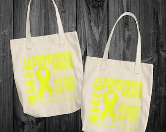 March/Endometriosis Awareness Month Tote Bag