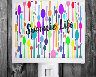 Spoonie Life Night Light