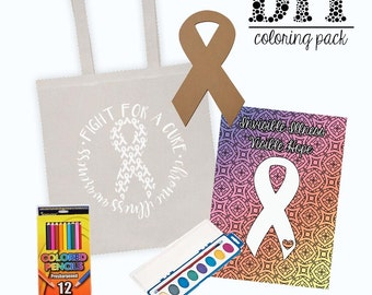 Spoonie DIY Coloring Pack