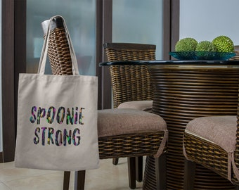 Spoonie Strong Mini Spoons Tote Bag