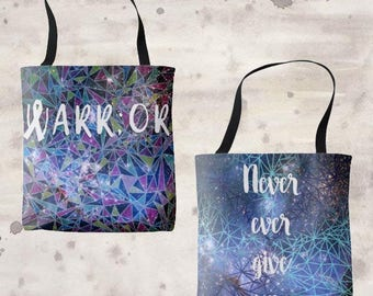 Warr;or Two Sided Tote Bag