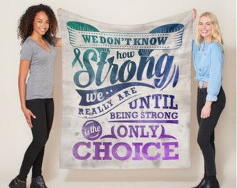 Strong Only Choice Blanket *