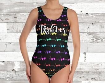 Fighter Tachys One Piece Bathing Suit/Body Suit