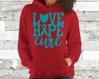 Dysautonomia/Love Hope Cure Hoodie