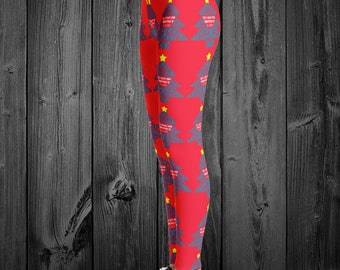 Christmas Cure Leggings/YOUR COLORS