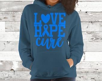 CFS/Love Hope Cure Hoodie