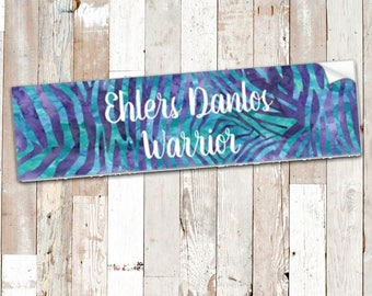 Ehlers Danlos Warrior Bumper Sticker *