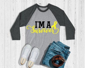 I'm A Survivor (Yellow) Raglan
