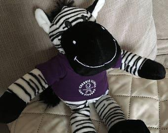 Zebra Stuffed Animal *