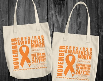 November/CRPS and RSD Awareness Month Tote Bag