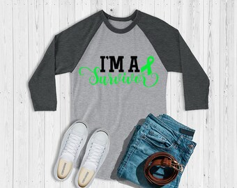 I'm A Survivor (Green) Raglan