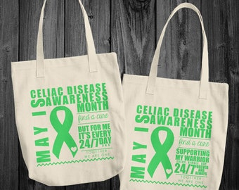 May/Celiac Disease Awareness Month Tote Bag