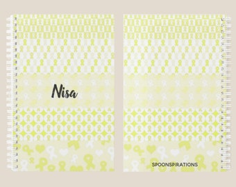 Yellow Ribbons Personalized Name Planner *