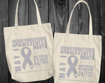 May/Borderline Personality Disorder Awareness Month Tote Bag