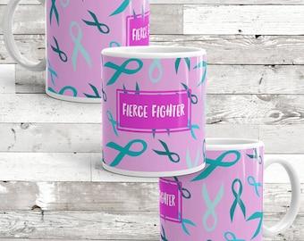 Fierce Fighter Awareness Mug