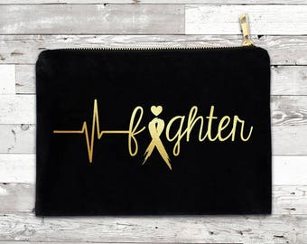 Tachy Fighter Foil Cosmetic Bag