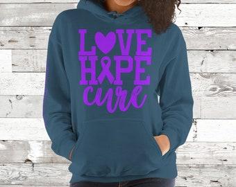 Chiari/Love Hope Cure Hoodie