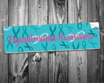 Dysautonomia Warrior Bumper Sticker *