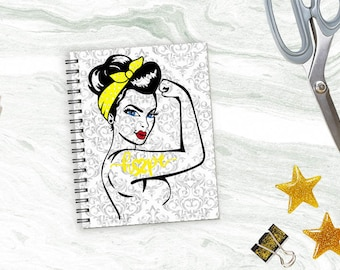 Yellow Warrior Damask Planner *