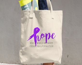 Hope For A World Without Chiari Malformation Tote Bag