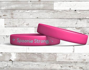 Spoonie Strong Wristbands *