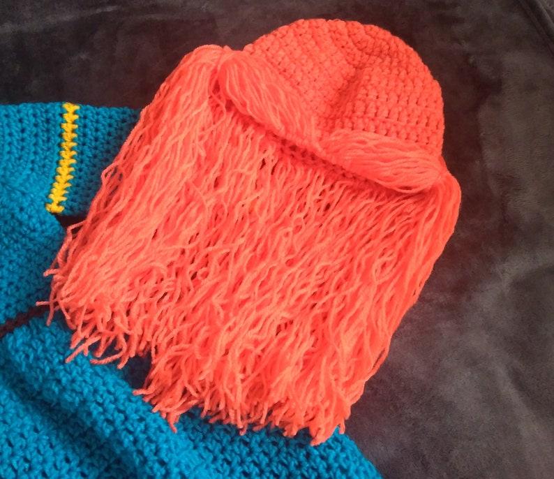 Brave Disney Princess Merida Crochet Baby Costume