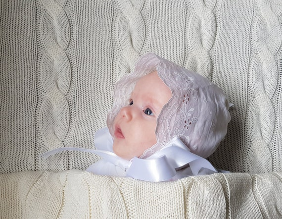 sizes: 0-3m New for Winter by Jessica Daisy Newborn baby girl hat set 3-6m