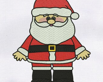 Christmas Santa Claus Embroidery Design