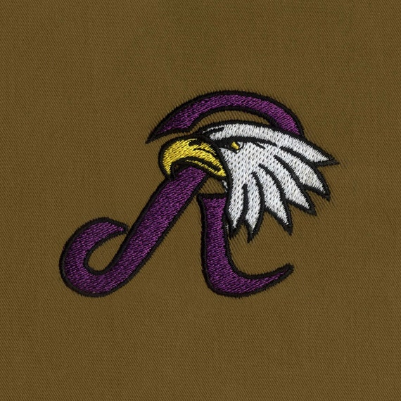 Regal Eagle Amazing Embroidery Design Etsy