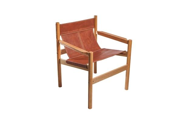 Brilliant Leather Sling Chair Danish Modern Chair Scandinavian Chair Brazilian Modern Nordic Chair Accent Chair Minimalist Chair Collectible Uwap Interior Chair Design Uwaporg