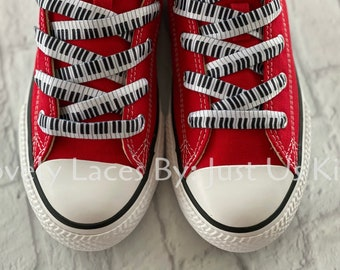 Piano shoelaces for Sneakers