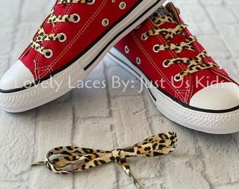Leopard Print Shoelaces,  Zebra Print Shoelaces for sneakers