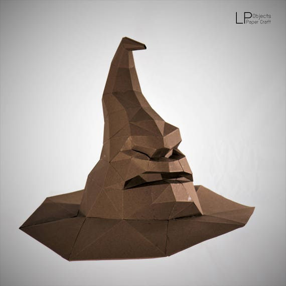 The Sorting Hat Harry Potter Hat Harry Potter Sorting Hat Etsy
