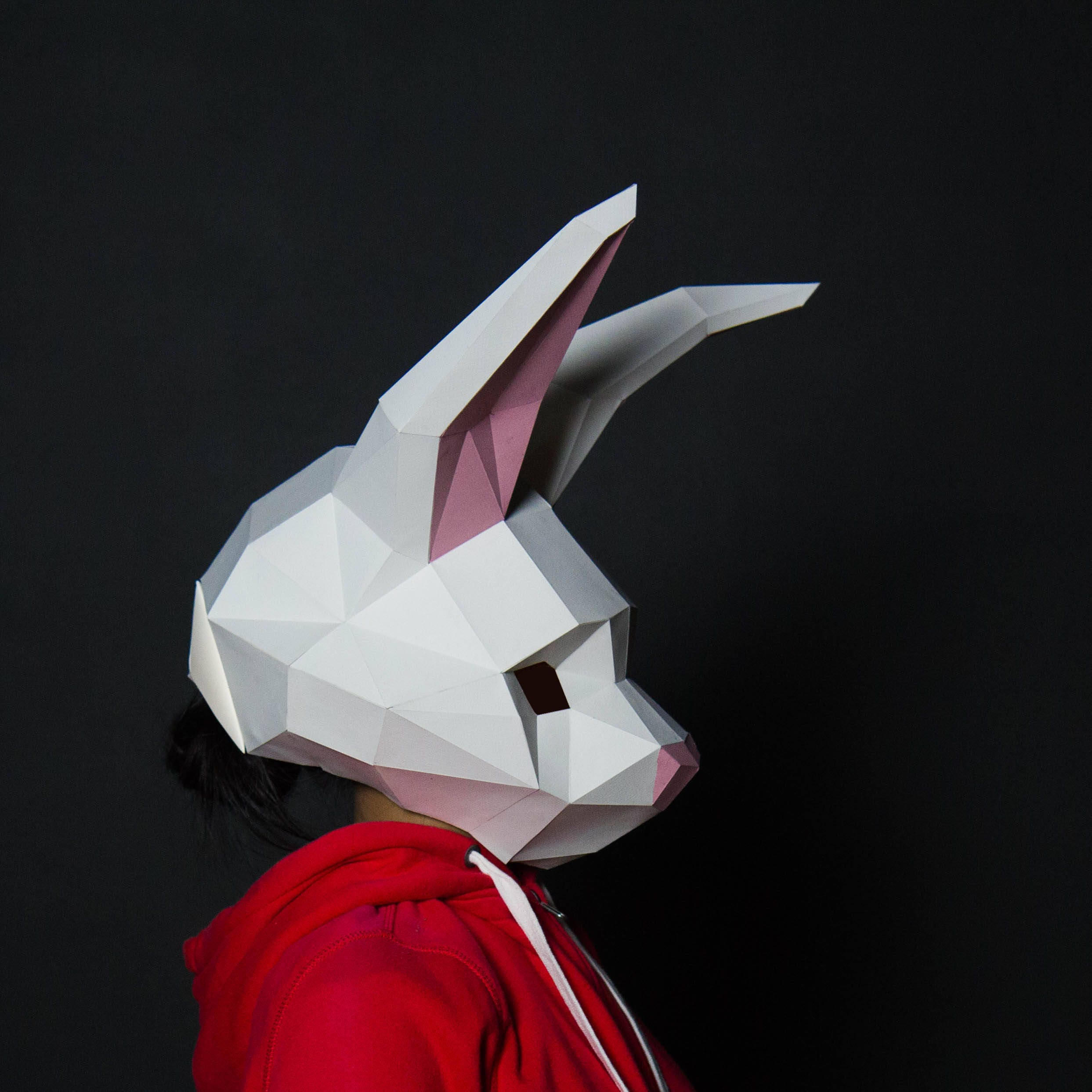 Rabbit Mask Bunny Mask Rabbit Model Bunny paper Rabbit