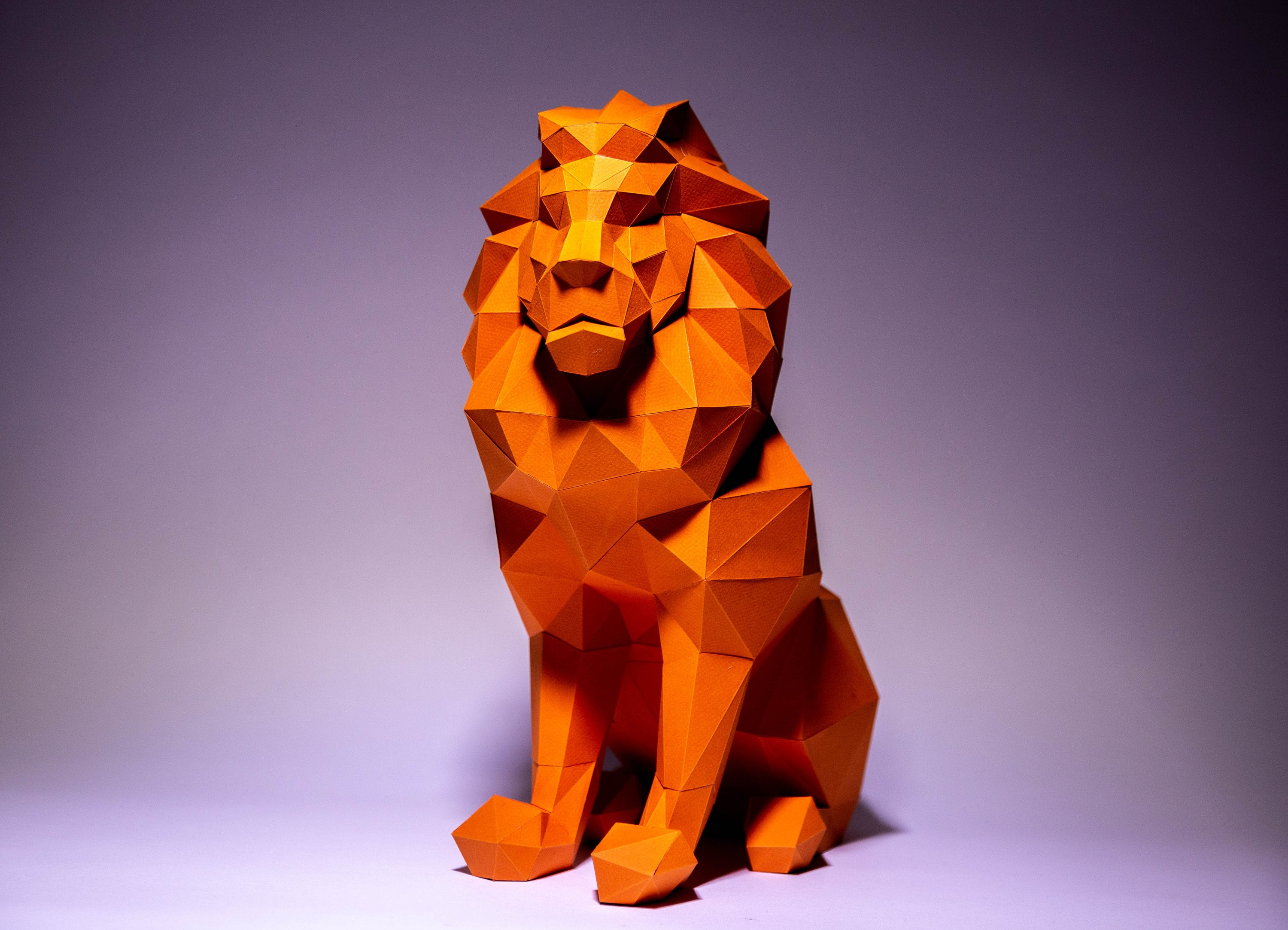 How to Make a Paper Lion - Origami Lion - YouTube | 2165x3000