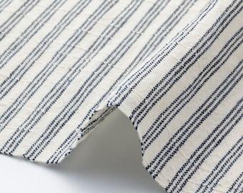 Matsusaka Cotton Sanbon-shima(White stripes)