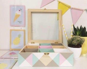Box has 9 squares memories