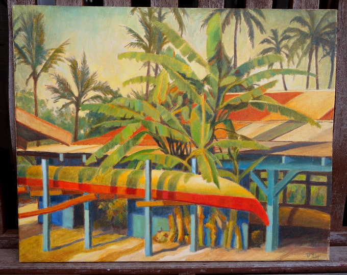 Hawaii Landscape painting by Paul Ely