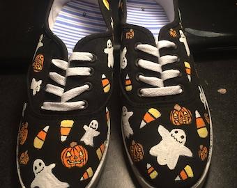Halloween Pattern Shoes
